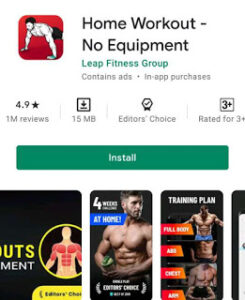7 best exercise app to gain weight with a workout schedule