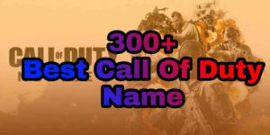 funny, cool, and inappropriate name for a call of duty