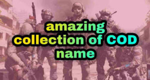 cool and funny COD clan names