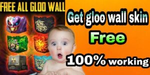 Simple step to get free fire gloo wall skin