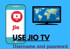 Password and username for jio tv